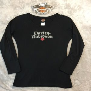 Like New Long Sleeve Harley Tee